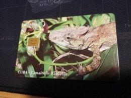 CUBA $10,00 CHIPCARD   Fine Used Card  ** 1662** - Kuba