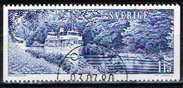 SUEDE / Oblitérés /Used / 1979 - Tourisme / Canal Göta - Oblitérés