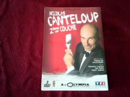 NICOLAS  CANTELOUP  2em  COUCHE   DOUBLE DVD  NEUF SOUS CELOPHANE - Concert Et Musique