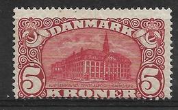 Danemark N°68* Fil.couronne Cote 400€ Etat Superbe. - 1905-12 (Frederik VIII)