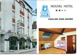 71100 CHALON-SUR-SAÔNE - Lot De 2 CPM - Voir Détails Dans La Description - Chalon Sur Saone