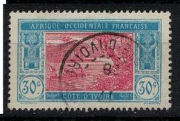 COTE D' IVOIRE     N°  YVERT   :      67   ( 2 )     OBLITERE       ( OB   6 / 29 ) - Côte-d'Ivoire (1892-1944)