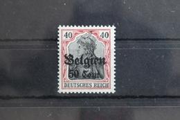 Deutsche Besetzung 1. WK Belgien 20a ** Postfrisch Geprüft Wasels BPP #SX383 - Besetzungen 1914-18