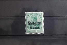 Deutsche Besetzung 1. WK Belgien 12II ** Postfrisch Geprüft Hey BPP #SX411 - Besetzungen 1914-18