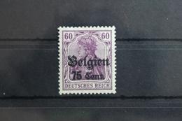 Deutsche Besetzung 1. WK Belgien 21a ** Postfrisch Geprüft Wasels BPP #SX373 - Besetzungen 1914-18