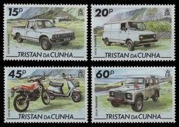 Tristan Da Cunha 1995 - Mi-Nr. 571-574 ** - MNH - Transport - Tristan Da Cunha