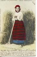 1208 - Pologne -  TYPES  Costume Des Environs De Varsovie     Circulée En     1903 - Poland