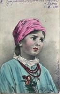- 1220- Pologne - TYPE POLONAIS - COSTUME DES ENVIRONS DE BADOM   Circulée En 1905 - Poland