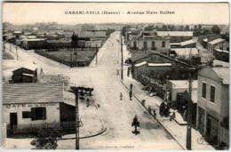 51et 642 CPA - CASABLANCA - AVENUE MERS SULTAN - Marokko