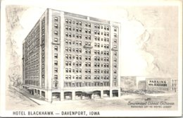 Iowa Davenport Hotel Blackhawk - Davenport