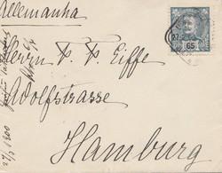 Portugal: 1900 Brief Nach Hamburg - Portugal