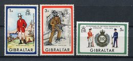 Gibraltar 1972. Yvert 281-83 ** MNH. - Gibraltar