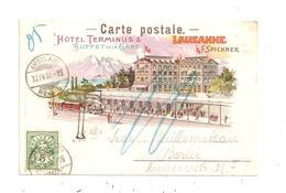 Lausanne-Hôtel Terminus- (D.6722) - VD Vaud