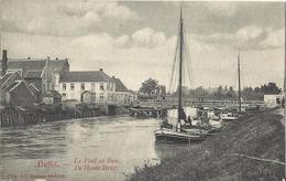 Duffel Le Pont En Bois - De Houte Brug 1909 - Duffel