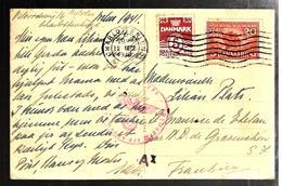 31299 - De CHARLOTTENLUND Pour La France - Covers & Documents
