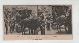 Arrivée Des Accusés Palais Justice Madrid Francisco Ferrer  Le Procès Nakens 1907 - Zonder Classificatie