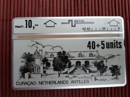 Landis & Gyr Phonecard 40 Units Curacao 309 C06691Used Rare - Antille (Olandesi)