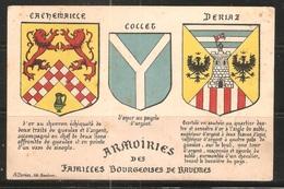 Carte P ( Armoiries Des Familles Bourgeoises De Baulmes ) - VD Vaud