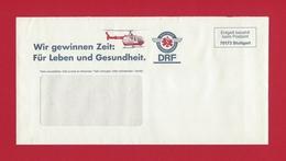 Entgelt Bezahlt Beim Postamt - 70173 Stuttgart - - DRF Deutsche Rettungsflugwacht - Elicotteri