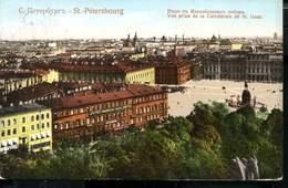 RUSSIA ST.PÉTERSBOURG SINGLE FRANKING VINTAGE POSTCARD - Rusia