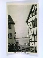 Köln, Straßenpartie, Blick über Den Rhein Zum Dom, Foto-AK, Gelaufen 1951 - Allemagne