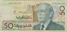 Maroc - Billet De 50 Dirhams - Hassan II - 1987 - P64d - Marokko