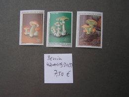 Benin Pilte 419-421  ** MNH  Ca. € 7,50 - Hongos