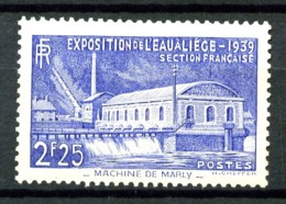 430 - Exposition De L' Eau à Liège - Neuf N* - Très Beau - Ungebraucht