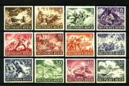 ALLEMAGNE (Empire) - YT  748 / 759 - Journée Des Héros (I) - Série Complète 12 Valeurs - Neufs N** Ou N* - Allemagne