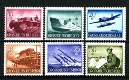 ALLEMAGNE (Empire) - YT  798 à 803 - Journée Des Héros (II) - 6 Valeurs - Neufs N** - Très Beaux - Allemagne
