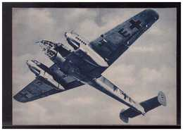 DT- Reich (008989) Propagandakarte Das Neue Deutsche Messerschmitt Kampfflugzeug Jaguar, Ungebraucht - Germany