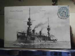Carte Postale Le Chanzy,marine Française,très Bon état,écrite 1905 - Manovre