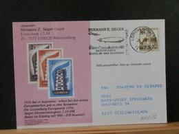 A12/312  CP  ALLEMAGNE - Postzegels Op Postzegels
