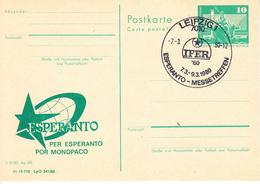 X01574 ESPERANTO DDR  GDR-o 1980 (GDR6) - Esperanto
