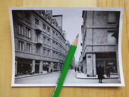 35 SAINT MALO - GRANDE RUE - RUE GOUIN DE BEAUCHESNE - COMMERCE DEVANTURE  PHOTO ORIGINALE 1950-60 - Saint Malo