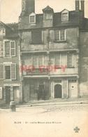 SL 2 X Cpa 41 BLOIS. Place Saint Louis Vieille Maison Et Commerce Argenture Laigle - Blois
