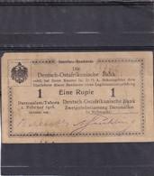 DOA  Deutsch Ostafrika  1 Rupie  1916 - [12] Colonies & Banques étrangères
