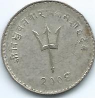 Nepal - Tribhuvana - VS2006 (1949) - 20 Paisa - KM716 - Nepal