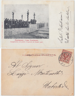 Passignano - Inaugurazione Del Pontile D'approdo, 1904 - Altre Città