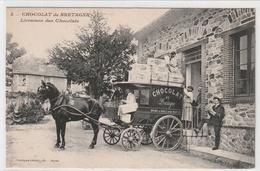 Nantes - Lot De 5 Cartes Chocolaterie De Bretagne - Nantes