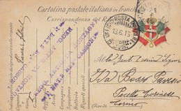 "9809-FRANCHIGIA 1° GUERRA-""POSTA MILITARE-15° DIVISIONE"" - 18-6-1916 - 1900-44 Victor Emmanuel III"