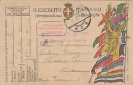 9811-FRANCHIGIA 1° GUERRA-DA VIPITENO - 2-11-1919 - 1900-44 Victor Emmanuel III