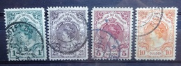 NEDERLAND  1899   Nr. 77 - 80    Gestempeld    CW 762,00 - Used Stamps