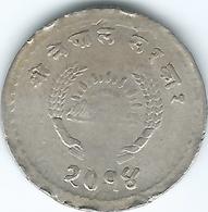 Nepal - Tribhuvana - VS2014 (1957) - 25 Paisa - KM739 - Nepal