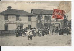 MESNIL MAUGER      1912   Hotel Du Chemin De Fer - France