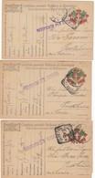 "9815-N°. 3 FRANCHIGIE 1° GUERRA-""POSTA MILITARE 76"" - 1917 - Marcophilia"