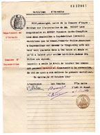 Certificat D Heredité Herault Espondeilhan Pouget Leon Bonnet Theodore Fredec Philon Deces 1942 - Documents Historiques