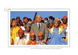 MATOURY - Le Président Jacques Chirac Chante La Marseillaise En Compagnie De Militants Guyanais - Politique - Cayenne - Guyane
