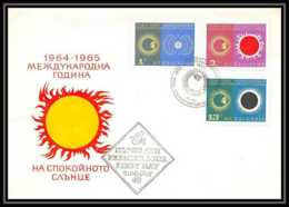 4541/ Espace Space Raumfahrt Lettre Cover Briefe Cosmos 20/5/1965 Voskhod 2 Leonov Fdc Bulgarie (Bulgaria) SOLEIL CALME - Lettres & Documents