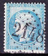 France-Yv 60A, GC 2148 Machault (7), - 1849-1876: Période Classique